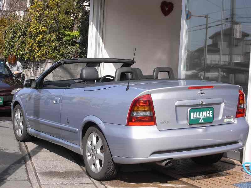 opel astra cabrio オペルアストラカブリオ